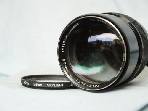 FAST Soligor  135mm 2.5 Prime Portrait  Lens -Needs Soligor Mount-Great Bokeh-